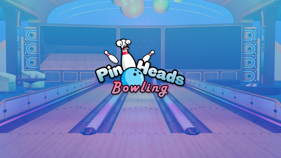Pin Heads Bowling art